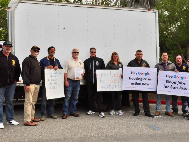 Rally at Google HQ: Calling on Google to Collaborate with Community
