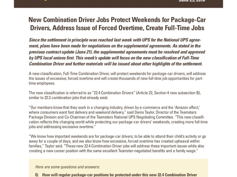 22.4 Combination Driver Summary and Q&A