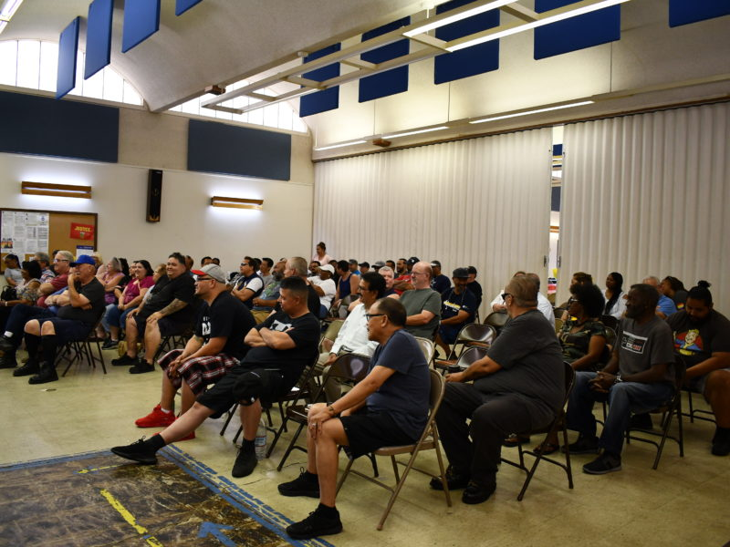First Transit Antioch Meeting